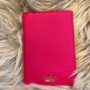 Kate Spade Hot Pink Passport Holder